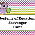 Systems of Equations Scavnger Hunt