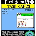 TASK CARDS: 3.OA.7 SET 1 {math: multiplication and division}