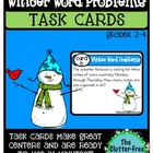 TASK CARDS: WINTER-THEMED WORD PROBLEMS