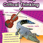 Analogies for Critical Thinking (Grades 6) (Enhanced eBook)