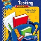 Language Arts Testing Grade 1 (Enhanced eBook)