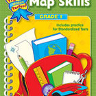 Map Skills: Grade 1 (Enhanced eBook)