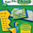 Puzzles and Games that Make Kids Think: Grade 3 (Enhanced eBook)