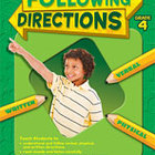 Following Directions: Grade 4 (Enhanced eBook)