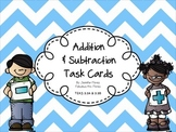 Addition and Subtraction Task Cards {TEKS Aligned}