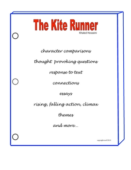 the kite runner protagonist essay example