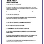 THE PEARL by John Steinbeck Chapter V Study Guide Questions w/key