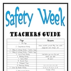 """THEME BOOKS"" - LOWER PRIMARY!! Safety Week Workbook!! AUS. ONLY"