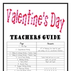 """THEME BOOKS"" - LOWER PRIMARY!! Valentine's Day Workbook!!"