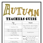 """THEME BOOKS"" - MIDDLE PRIMARY!! Autumn Workbook!! AUS. ONLY"