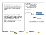 T.I.P.S. Method for Solving Word Problems