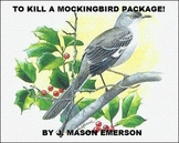 TO KILL A MOCKINGBIRD PACKAGE! (COMMON CORE, TESTS, FUN WO