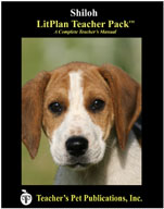Shiloh: LitPlan Teacher Pack