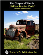 The Grapes of Wrath: LitPlan Teacher Pack