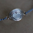 TPT Apple Logo Bracelet - Blue