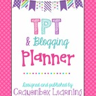 TPT Seller Blogging Planner - Social Media Planner - Ultim