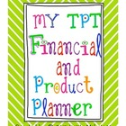 TPT Financial and Product Organizer- FREEBIE
