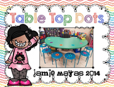 Table Top Dots {Primary}{Line Up Vinyl Dots}