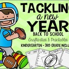 Tackling a New Year! {Back to School printables & craftivities}