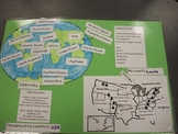 Taking a Trip Around the World:  Mapping the US and World
