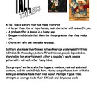 Tall Tale Writing Assignment and Book Project