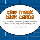 Tally Marks Task Cards