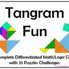 Tangram Fun Math/Logic Center