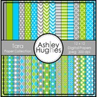 Tara Paper Collection {12x12 Digital Papers for Commercial Use}