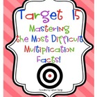 Target 15: Mastering the Most Difficult Multiplication Facts