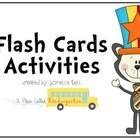Flash Cards Freebie