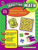 Targeting Math Operations and Number Patterns  Grades 5-6