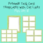 Task Card Template - Mini Set 18 - frames - borders