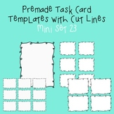 Task Card Template - Mini Set 23 - frames - borders