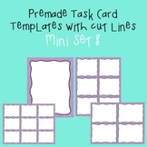 Task Card Template - Mini Set 8 - frames - borders