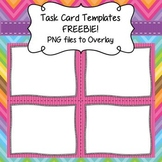 Task Card Templates FREEBIE - Frames/Borders to Overlay