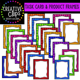 Task Card and Product Frames {Creative Clips Digital Clipart}