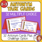 Task Cards: 32 FREE cards for practicing Antonyms - Grades 2-3
