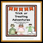 Task Cards: Critical Thinking / Logical Thinking / Halloween