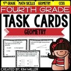 Task Cards for 4th Grade Common Core - Geometry