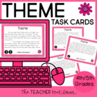 Task Cards for Themes in Literature: Common Core 4th and 5
