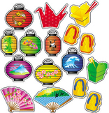 Taste of Asia Mini Classroom Bulletin Board Set