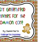 Tasty Gingerbread Activities for the Common Core