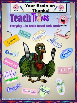 Teach Thanks Through Brain Based Task Cards