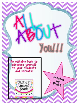 Teacher Autobiography---All About Your Teacher