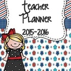 Teacher Binder 2014-2015 (Red, White, & Blue)