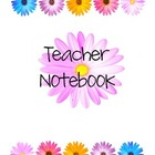 Teacher Binder Flowers