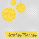 Teacher Binder (Planner & Organizer BUNDLE -Grey) Editable w/CCSS