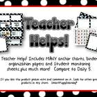 Teacher Helps for Literacy Groups - RED Polka Dot
