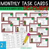 """Teacher, I'm Done!"" Task Cards for December"