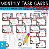 """Teacher, I'm Done!"" Task Cards for January"